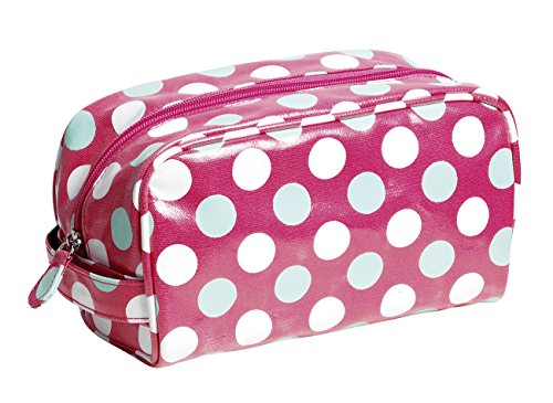 By Dancewear PP3P Bag Case Cosmetic Oilcloth Spotty Katz Makeup Red Christmas 8FSwYq1n