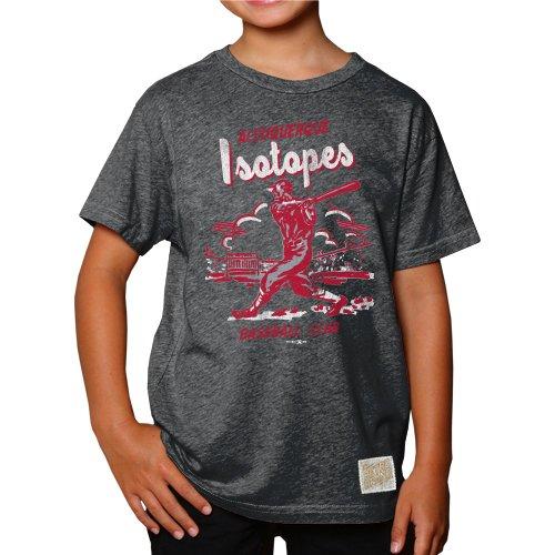 Minor League Baseball Albuquerque Isotopes Boys T-Shirt, Small, Heather - Kids Albuquerque