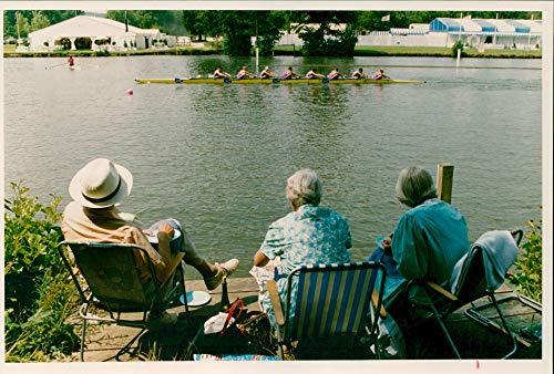 Regatta Henley (Vintage photo of Henley Royal Regatta.)