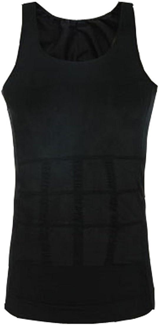 Ducomi/® Slimshaper D/ébardeur Gainant sans Manches pour Homme Rend la Zone Abdominale Plus Fine et Tonique.