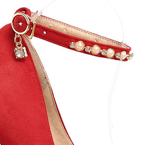 Rosso 35 Donna Plateau APL10682 Red con BalaMasa xq8awYIn4