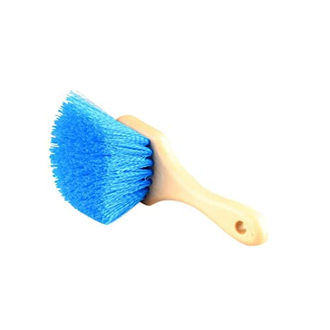 Aolvo - Cepillo para llantas de coche, cepillo para lavar los neumáticos, cepillo de brillo, ...