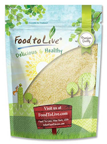 Food to Live Blanched Almond Meal / Flour (Kosher) (0.5 Pounds) by Food to Live (Image #5)