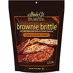 Brownie Brittle Chocolate Chip, 16 Ounce