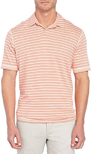 Tommy Bahama On The Flip Reversible Stripe Golf Polo Shirt