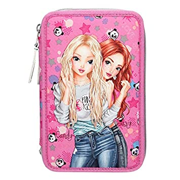 Toy Planet Estuche Triple Top Model: Amazon.es: Juguetes y ...
