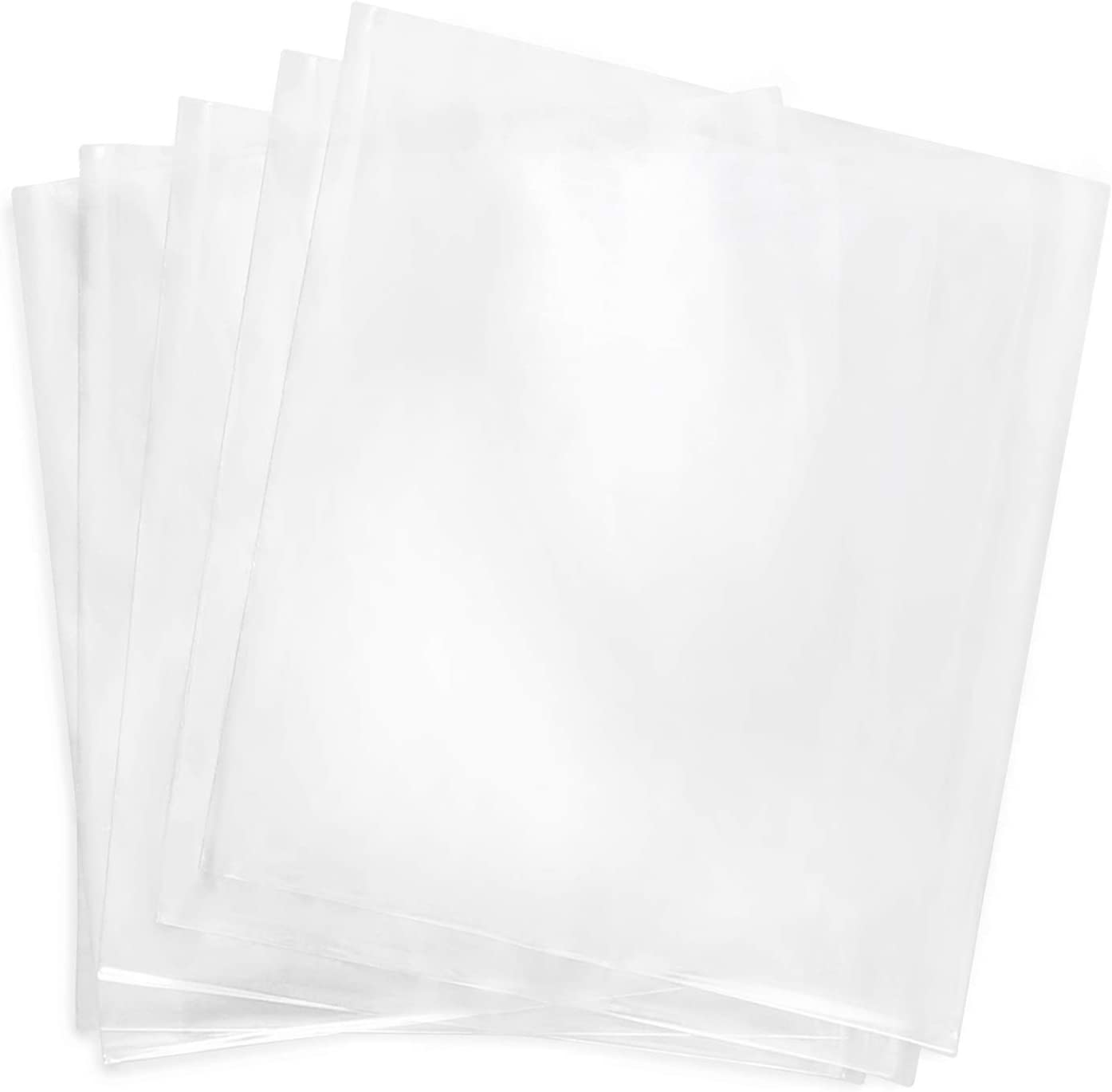 Shrink Wrap Bags,4x4 Inches 200 Pcs Clear PVC Heat Shrink Wrap for Packagaing Soap,Bath Bombs,Candles,Small Gifts and Homemade DIY Projects