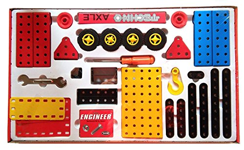 SENIOR TECHNO ,Construction Toys Mechanical Kit For Kids - (Age 6+) with guide book by JAGGERMART (Image #1)
