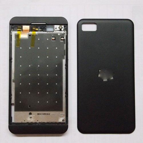 hot sale online 16d57 e29b9 OEM Full Housing Cover Case (Black) For Blackberry Z10