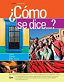 img - for  Como se dice...?, Enhanced (World Languages) book / textbook / text book