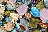 (Assroted Mix (Africa)) 500 Carat Bulk Lots Natural Rough Crystals Gemstones Specimens