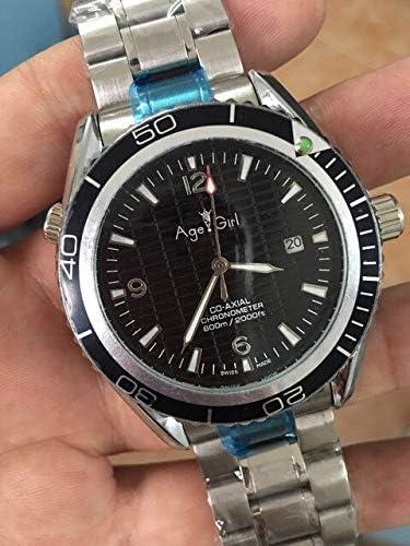 SANLUX 高級ブランド新 skyfall ダイビングメンズスポーツステンレス鋼黒青メンズ自動機械式時計ジェームズ · ボンド 007 スタイル