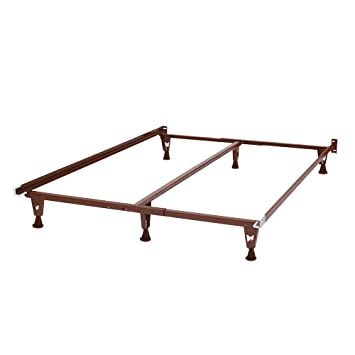 premium metal bed frame queen size