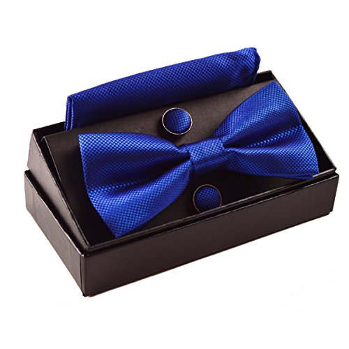 mens-solid-formal-banded-pre-tied-bow-ties-set-royal-blue