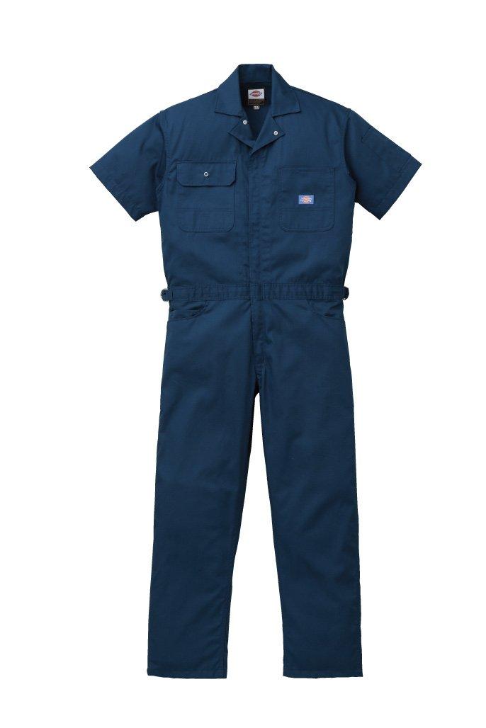 ディッキーズ Dickies (山田辰)夏用半袖 ツヅキ服 1012 ネイビーブルー 5Lサイズ B008PO5ZDK 5L|ネイビーブルー