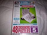 USA Crosswords Crossword Companion Refill - 48 Crossword Puzzles - Volume 5 by Herbko International