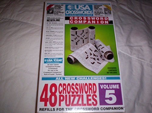 USA Crosswords Crossword Companion Refill - 48 Crossword Puzzles - Volume 5 by Herbko International