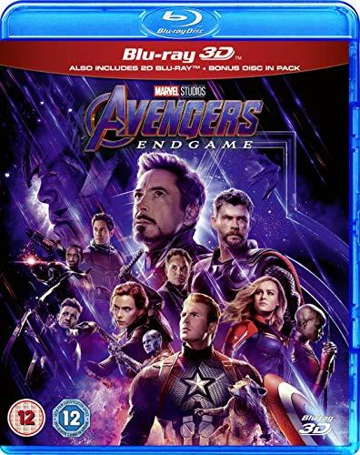 Marvel's Avengers: Endgame (3D Blu-ray + Blu-ray)
