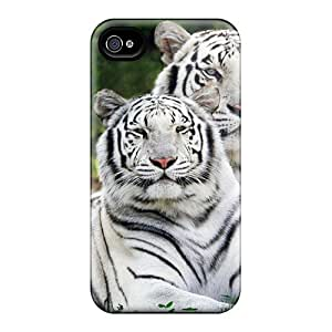 QnK45421cbdp JosareTreegen White Bengal Tigers Widescreen Feeling Iphone 6plus On Your Style Birthday Gift Covers Cases