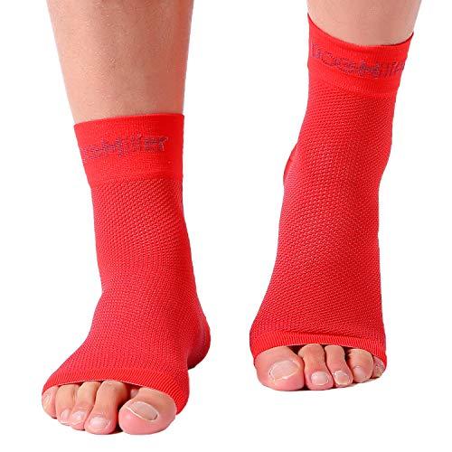 ccf91aca8e Doc Miller Plantar Fasciitis Socks Medical Grade Compression Foot Sleeves -  Ankle Arch & Heel Support Achilles Tendon Support, Heel Spurs Tendonitis,  ...