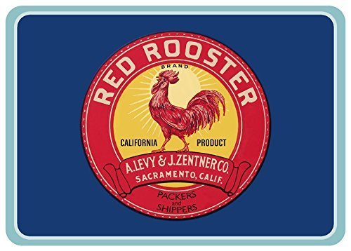 - Bungalow Flooring 204941222336 Red Rooster Label Accent Mat