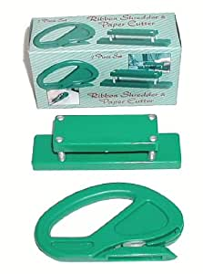 Ribbon Shredder and Paper Cutter 2 Pc Set - Gift Wrapping