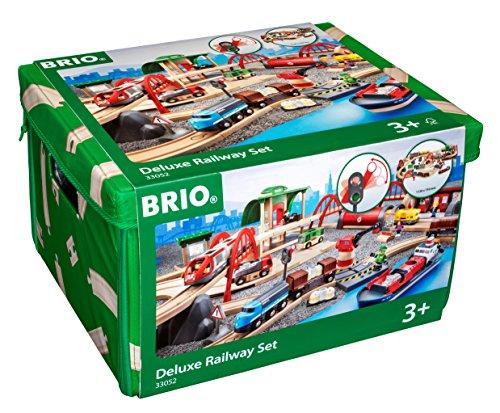 51kcd%2B5MdjL - Brio Railway World Deluxe Set