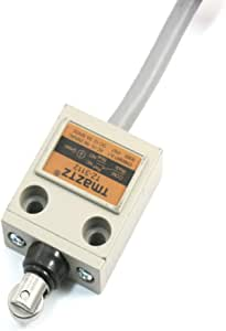 uxcell TZ-3111 Plunger Limit Switch Momentary Compact Prewired 1NC 1NO