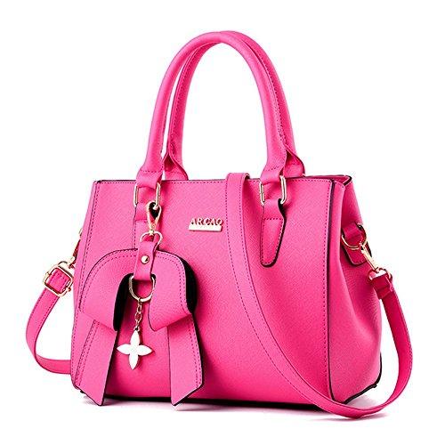 Shoulder Women's Messenger Handbags Totes Bag Rose 5qqfpwr