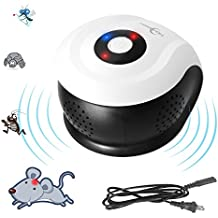 Ultrasonic Pest Repeller Mouse Electronic Sonic Pest Repellent Control Electromagnetic Indoor for Insect Mice,Flying, Mouse, Bed Bugs, Spiders, Mosquitoes, Roaches, Ants Humans & Pets Safe