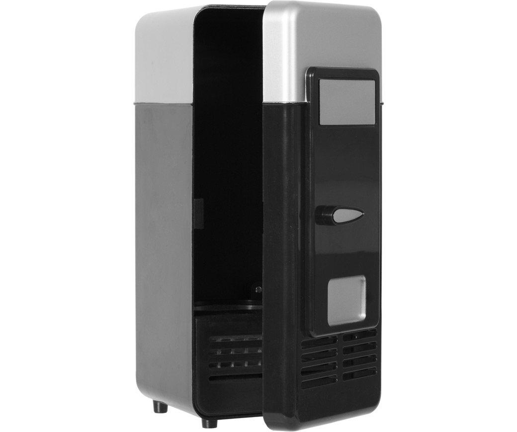 GreatGadgets 3072 Mini USB Frigorífico Negro Negro y Plata: Amazon.es: Hogar