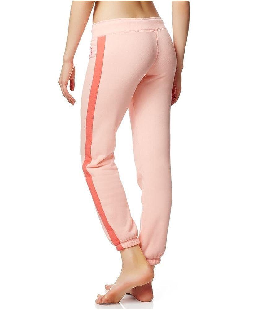 Aeropostale Womens LLD Bold Stripe Cinch Athletic Sweatpants