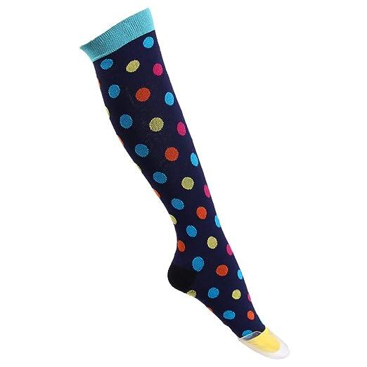84d4caac8e3 YJYdada Compression Sock Man Running Sports Travel Athletic Shin Knee Nurse High  Sock (A)
