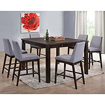 Picket House Furnishings Pyke 7 Piece Counter Height Dining Set