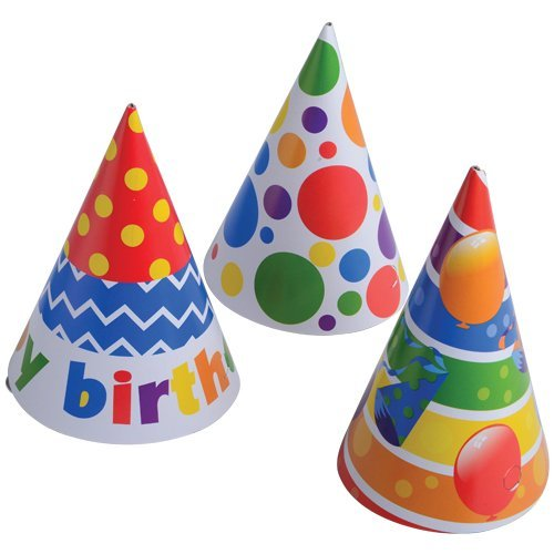 U.S SS-UST-910 Toy 910 Happy B-Day Paper Hats StealStreet Home