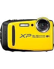 Fujifilm Finepix XP120 16.4MP, 20m UnderWater Digital Camera, Yellow