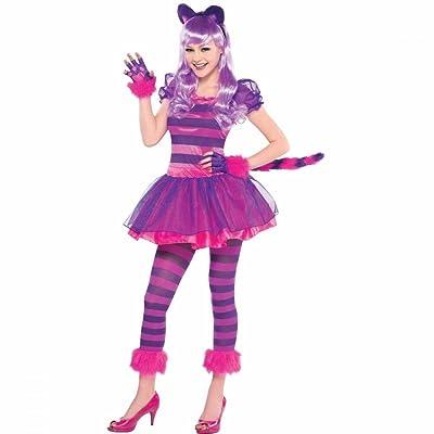 Amscan International - Disfraz de gato para niñas, 12-14 años (999449): Juguetes y juegos