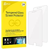 iPhone 7 Screen Protector, iPhone 8 Compatible, JETech 2-Pack Tempered Glass Screen Protector Film Compatible with Apple iPhone 8 and iPhone 7 4.7-Inch