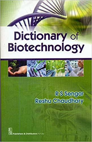 Book Dictionary of Biotechnology Pb