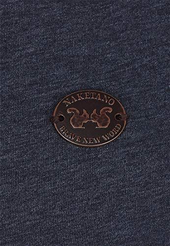 Indigo Melange Blue M Naketano Groupie Sweatshirt Female qB44Ag