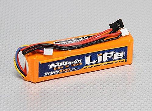 HobbyKing 1500mAH LiFe 3S 9.9v Transmitter pack. (Transmitter Battery)