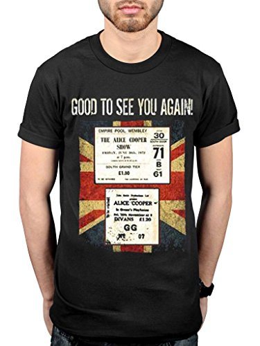 Official Alice Cooper UK Only Event November 2017 T-Shirt -