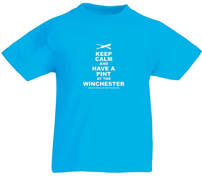 Have A Pint At The Winchester Enfant T Shirt Imprime Amazon Fr