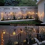 Solar Mason Jar Hanging Lights, 8 Pack 30 LEDs