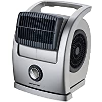 Ovente BF74G Cool Breeze Pivoting Blower Fan, Gray
