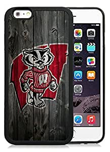 Customized Case Cover For SamSung Galaxy S3 Case with Ncaa Big Ten Conference Football Wisconsin Badgers Protective Cell Phone Hard Cover Case Cover For SamSung Galaxy S3 Generation Black