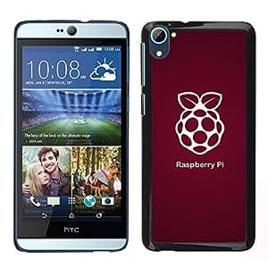 EJOY---Cubierta de la caja de protección la piel dura para el / HTC Desire D826 / --Raspberry Pi