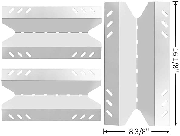Replacement Heat Tent Shield Plate 4 Pack Kit Fits Member/'s Mark Grills