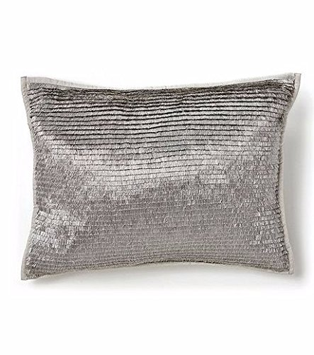 Calvin Klein Home Caspian Metallic Fringe, 12x16 Dec Pillow
