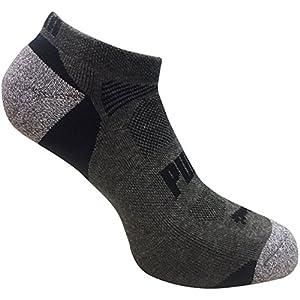 Puma Men's Low Cut All Sport No show Socks 6 Pack Sock Size 10-13 Shoe Size 6-12